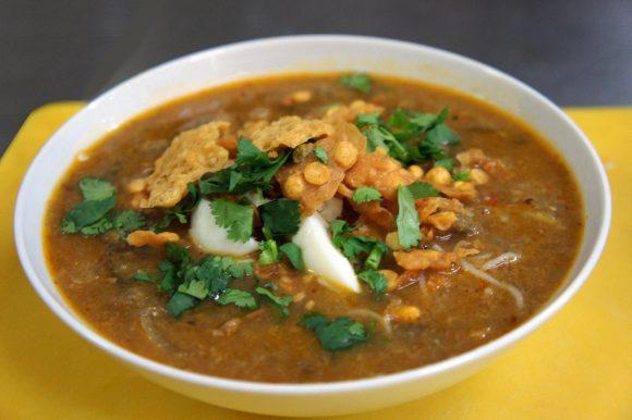 Mohinga, a Beloved Burmese Noodle Soup.
